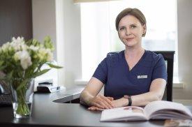 """""""Gijos Klinikų"""" plastinės ir rekonstrukcinės chirurgijos gydytoja dr. Loreta Pilipaitytė"""