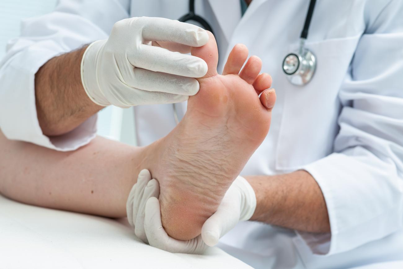 pėdos masažas varpos