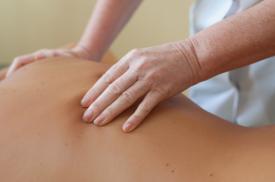 Gydomojo masažo procedūra
