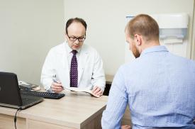 Gydytojas G. Pocius pataria pacientui