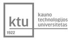 KTU logo pilkas