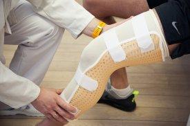 Kojos įtvaras (longetė)
