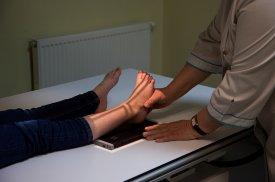 Pacientei atliekami rentgeno tyrimai