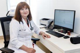 """""""Gijos Klinikų"""" kardiologė Ina Aleksonienė"""